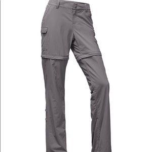 The North Face convertible hiking pants.